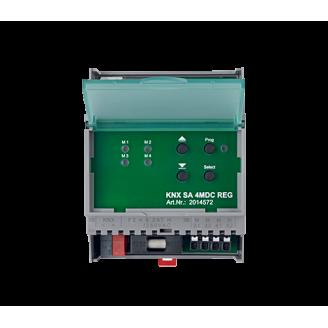 Actionneur de protection solaire (DC-rail din)